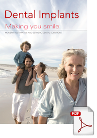 Download a brochure on Dental Implants