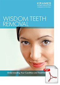 Download a brochure on wisdom teeth procedures