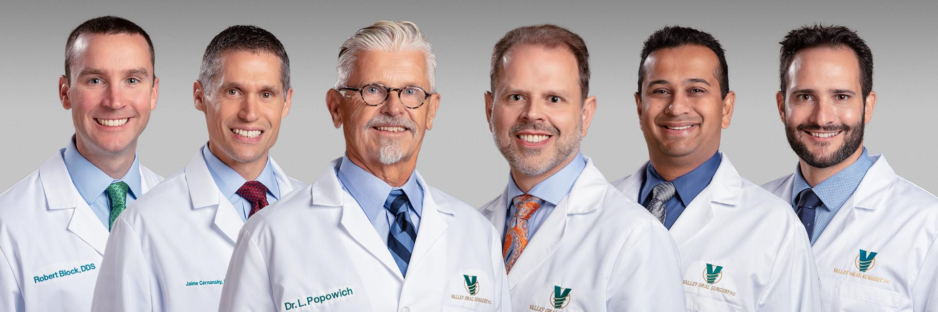 Photo of the surgeons of Valley Oral Surgery