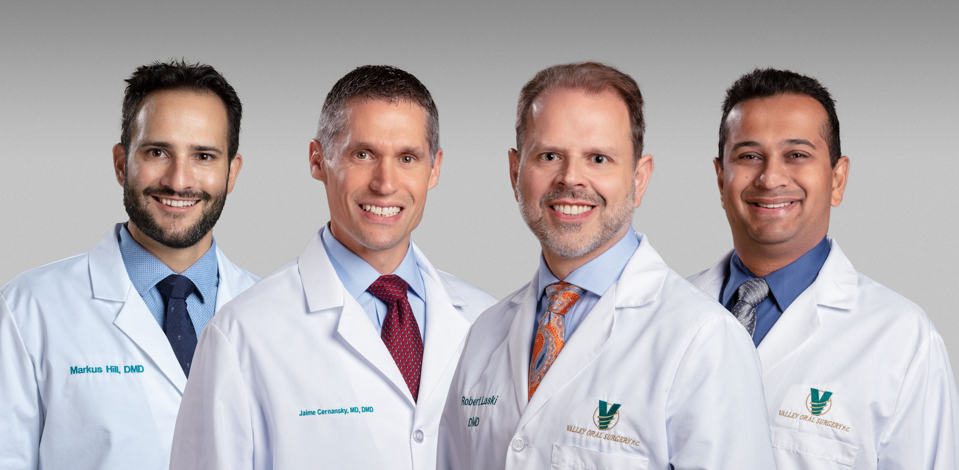 The surgeons of Valley Oral Surgery